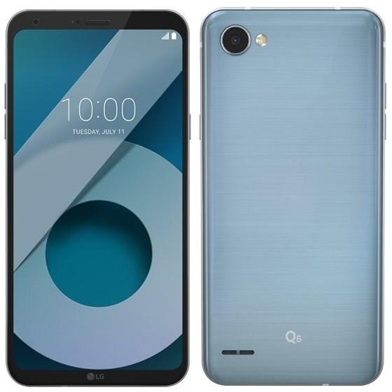 LG Q6 (M700A) Dual SIM 32GB Platinum - Handy