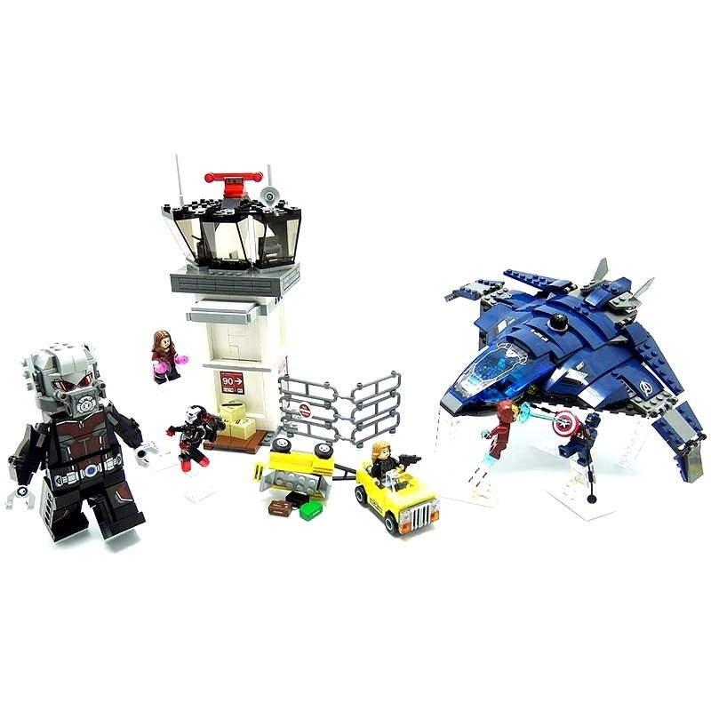 LEGO Super Heroes. Superhelden-Einsatz am Flughafen - Bausatz