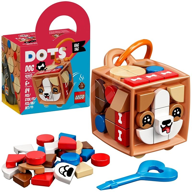 LEGO® DOTS 41927 Taschenanhänger Hund - LEGO-Bausatz