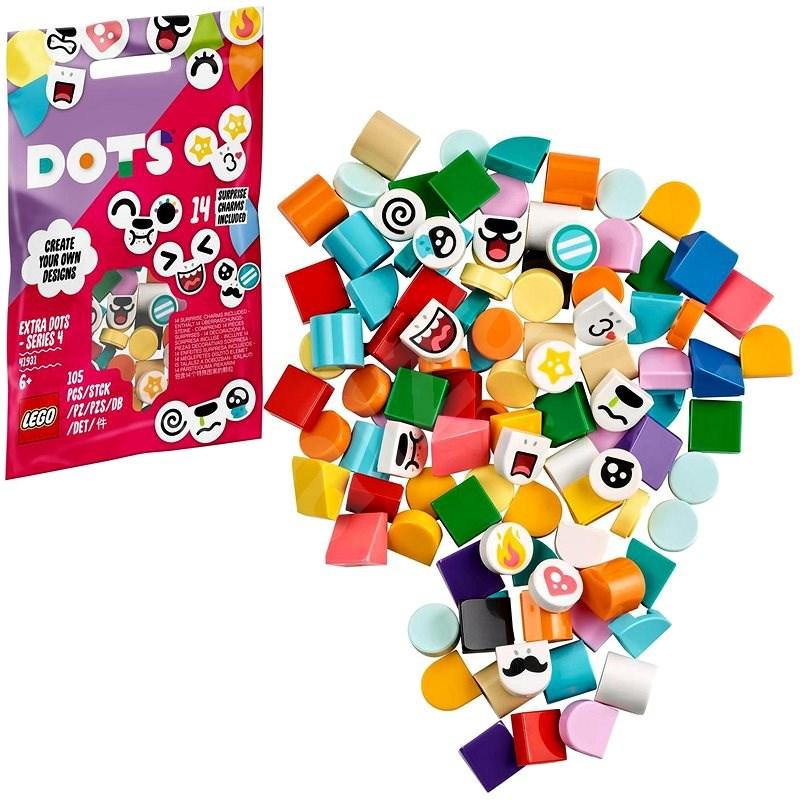 LEGO® DOTS 41931 Ergänzungsset Tiergesichter - LEGO-Bausatz
