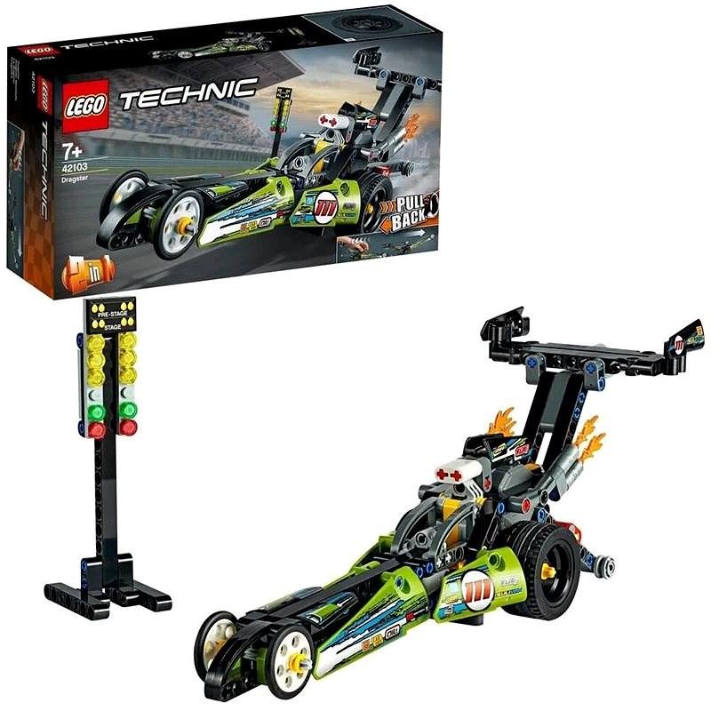 LEGO Technic 42103 Dragster Rennauto - LEGO-Bausatz