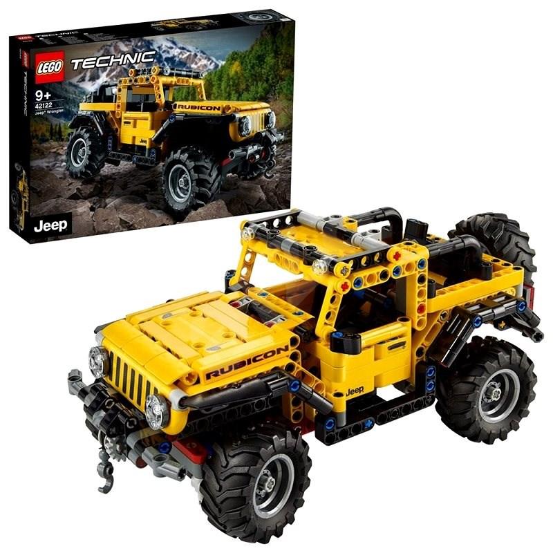 LEGO® Technic 42122 Jeep® Wrangler - LEGO-Bausatz
