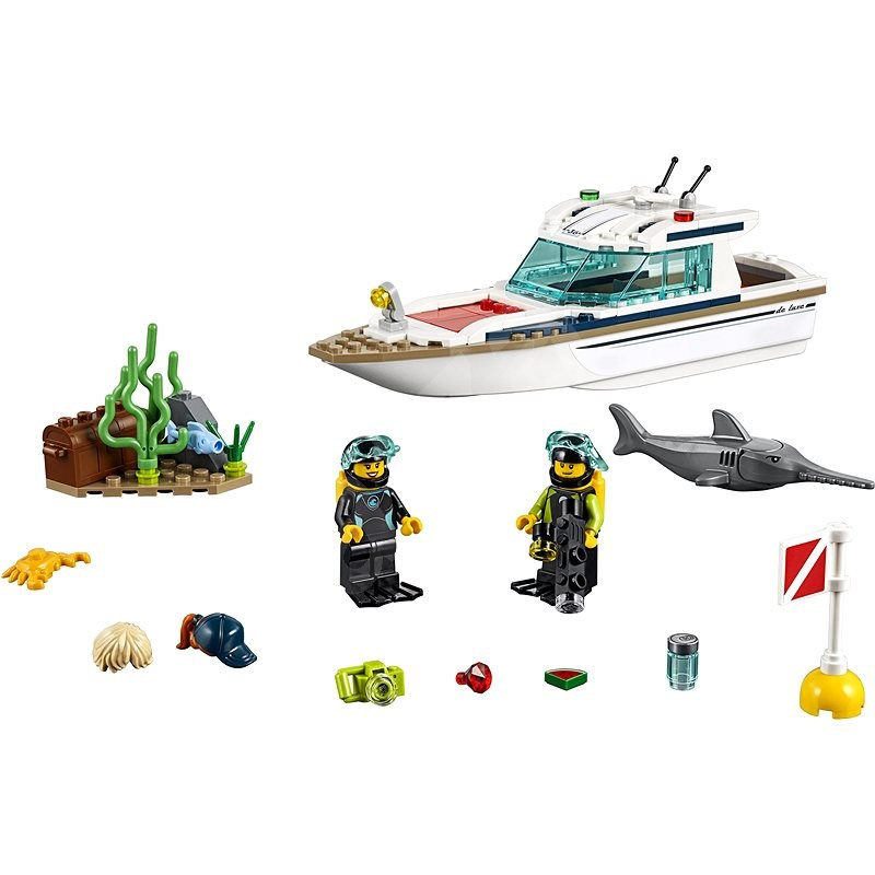 LEGO City 60221 Tauchyacht - LEGO-Bausatz