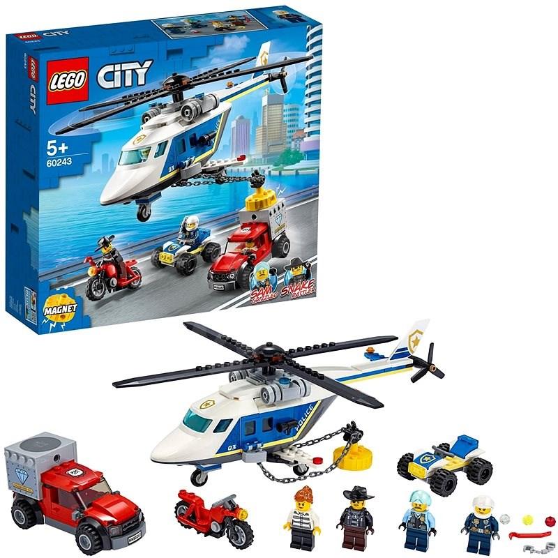 LEGO City Police 60243 Verfolgungsjagd mit dem Polizeihubschrauber - LEGO-Bausatz