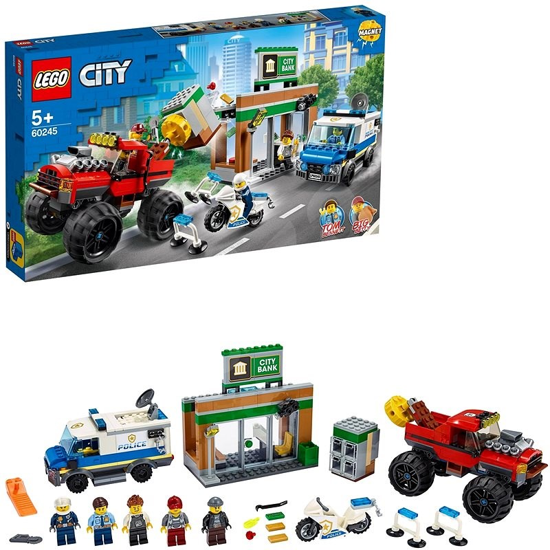 LEGO City Police 60245 Raubüberfall mit dem Monster Truck - LEGO-Bausatz