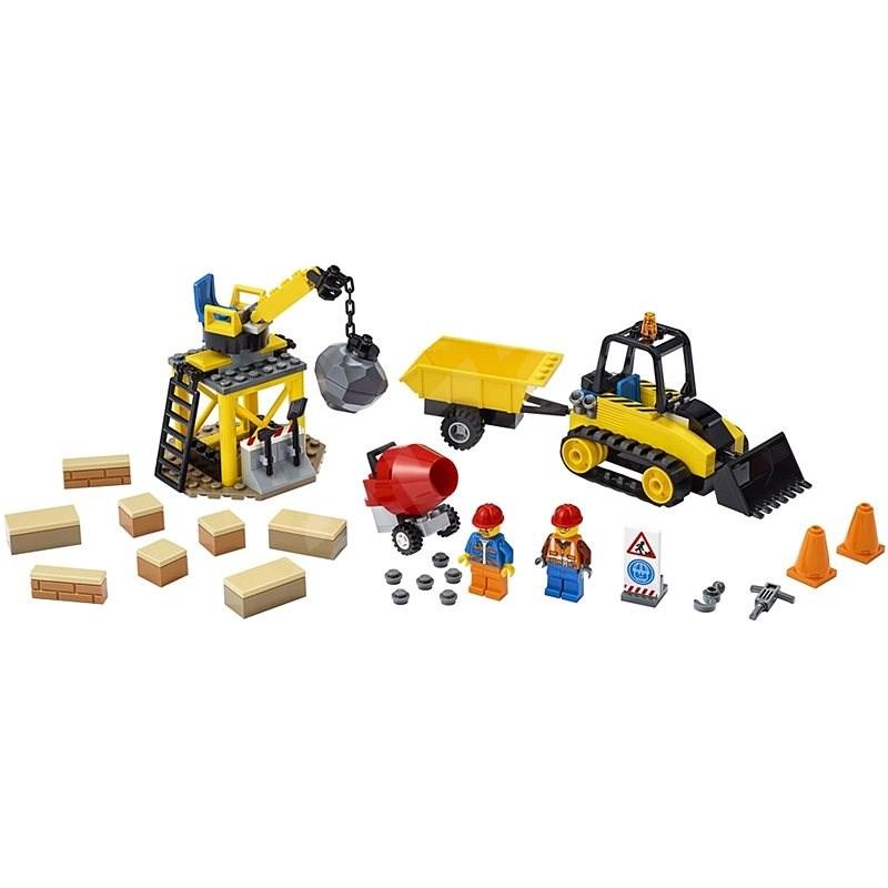 LEGO City Great Vehicles 60252 Bagger auf der Baustelle - LEGO-Bausatz