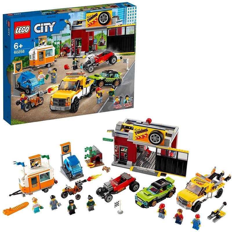 LEGO City Nitro Wheels 60258 Tuning Werkstatt - LEGO-Bausatz