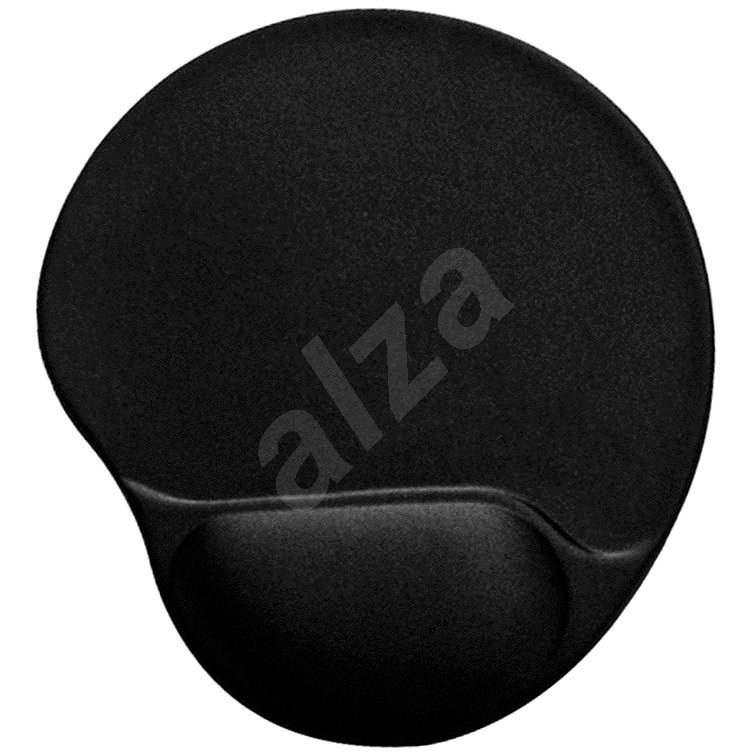 Gembird Maus Pad mit Handgelenkauflage Schwarz - Mousepad
