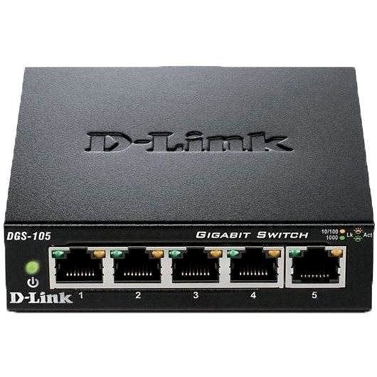 D-Link DGS-105/E - Switch