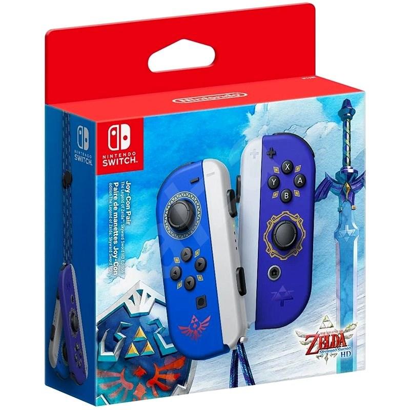 Nintendo Switch Joy-Con-Controller Hylian Shield and Master Sword - Gamepad