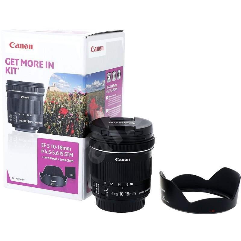 Canon EF-S 10-18mm F4.5 - 5.6 IS STM + EW-73C - Objektiv