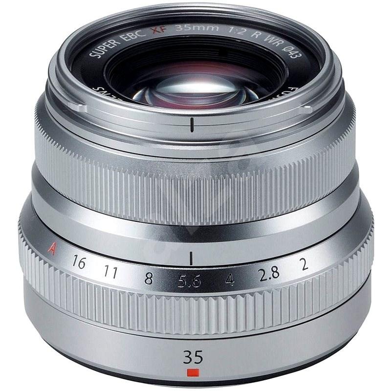 Fujifilm Fujinon XF 35mm F/2.0 R WR Silver - Objektiv