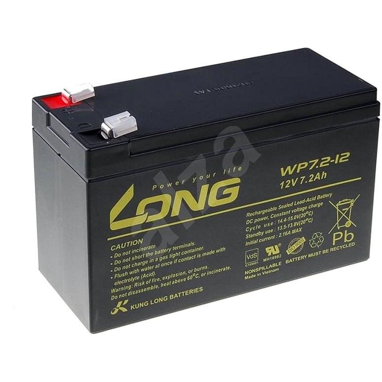 Long 12V 7.2Ah Bleibatterie F2 (WP7.2-12 F2) - Akku