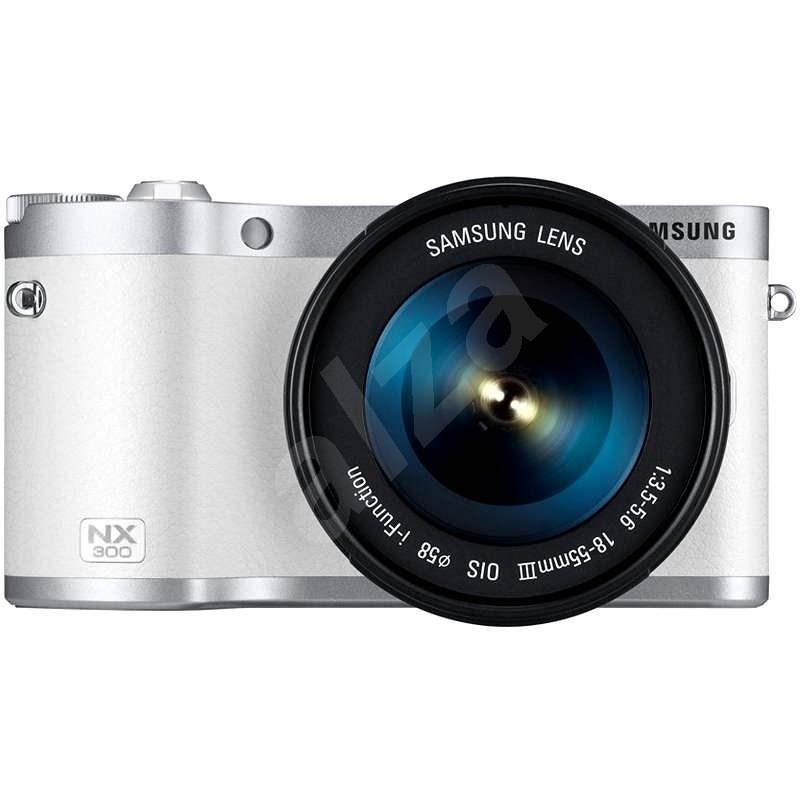 Samsung NX300 white - Digital Camera