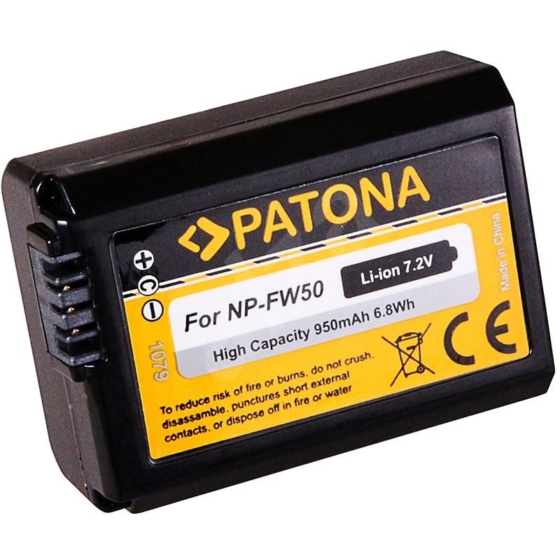 PATONA für Sony NP-FW50 - Kamera-Akku