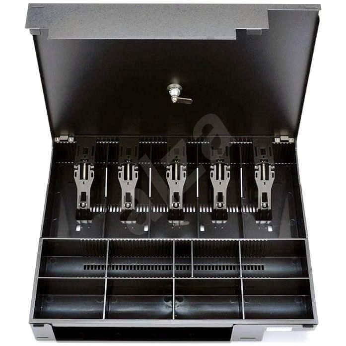 Zubehör Virtuos Ersatz-Kunststoff-Einlagefach für C410 / C420 / C430 mit Deckel - Zubehör für Kassenschubladen