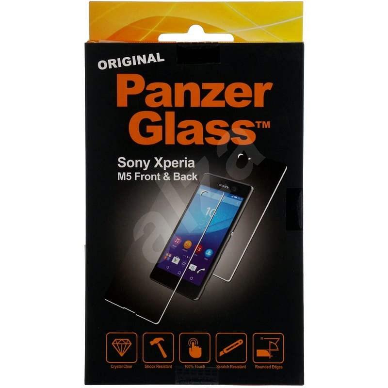 PanzerGlass für Sony Xperia M5 vorne und hinten Glas - Schutzglas