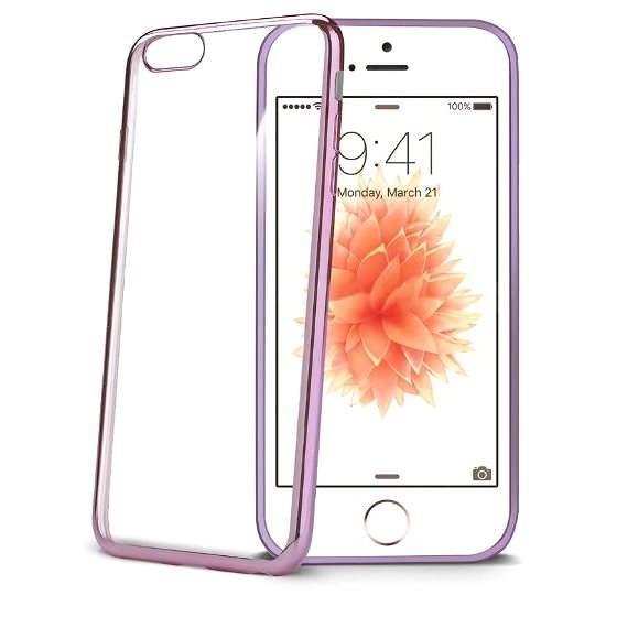 Silikonhülle CELLY Laser BCLIPSEPK pink - Handyhülle