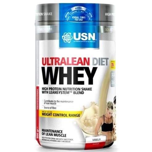 USN ultramageren Diet Whey Vanilla -