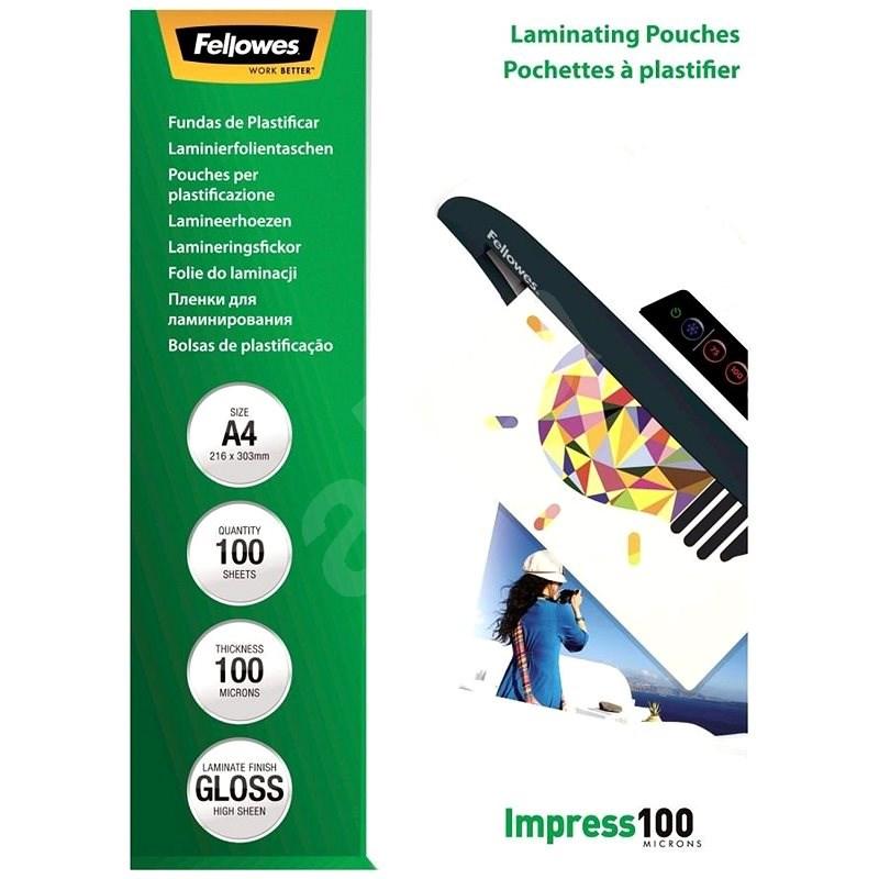 Laminierfolie Fellowes A4 100mic - Laminierfolie