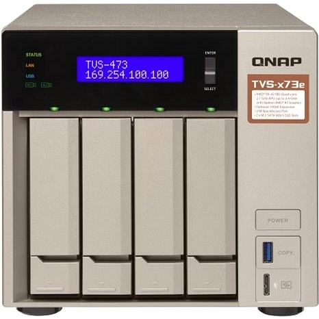 Datenspeicher QNAP TVS-473e-4G - NAS Datenspeicher