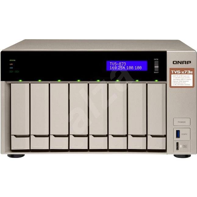 Datenspeicher QNAP TVS-873e-4G - NAS Datenspeicher