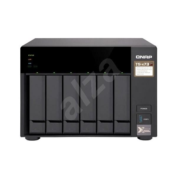 QNAP TS-673-8G - NAS Datenspeicher