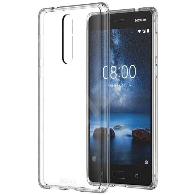 Nokia Hybrid Crystal Case CC-701 für Nokia 8 - Schutzhülle