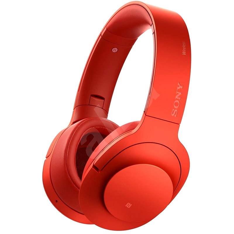 Sony MDR-100ABN High-Resolution Rot - Kopfhörer