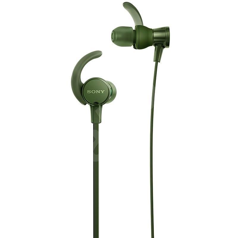 Sony MDR-XB510AS Grün - Kopfhörer