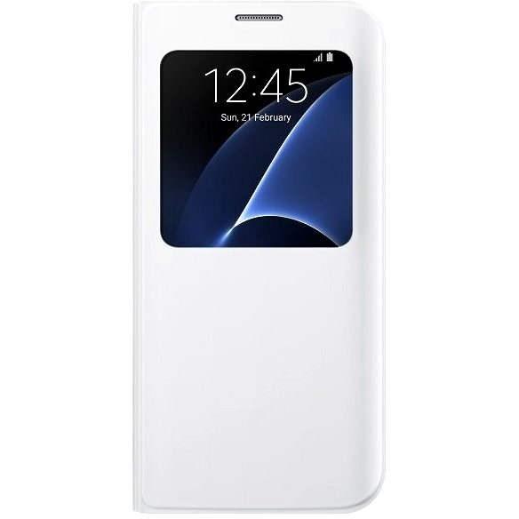 Samsung EF-CG935P weiß - Handyhülle