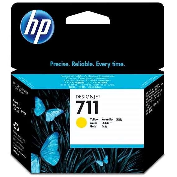 HP CZ132A Nr. 711 Gelb - Tintenpatrone