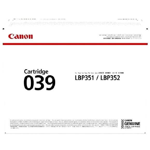 Canon CRG-039 - Toner