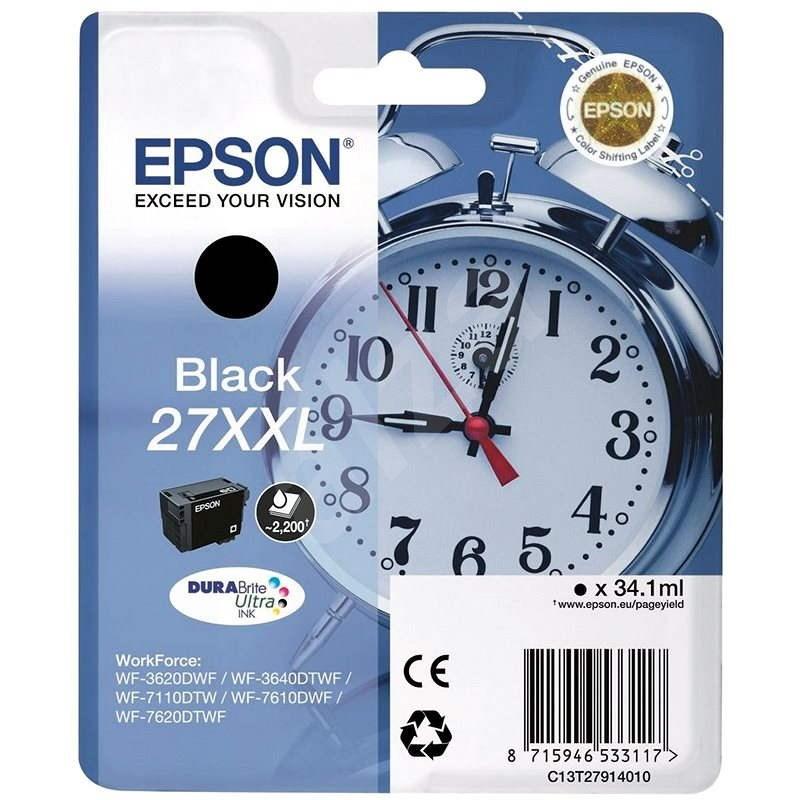 Epson T2791 27XXL Schwarz - Tintenpatrone