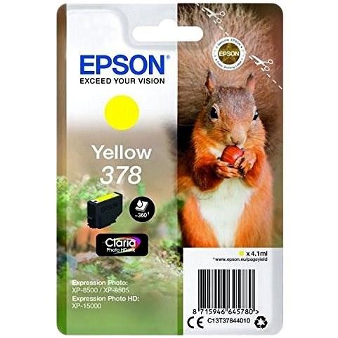 Epson T3784 Nr. 378 Gelb - Tintenpatrone