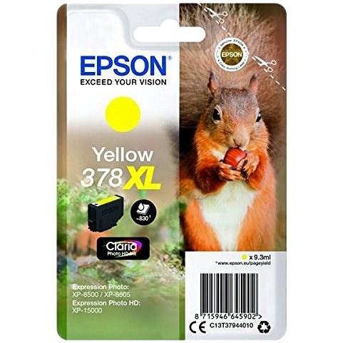 Epson T3794 Nr.378XL Gelb - Tintenpatrone