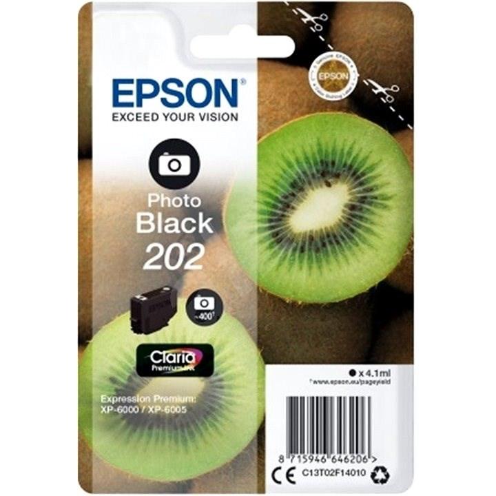 Epson 202 Claria Premium Foto Schwarz - Tintenpatrone