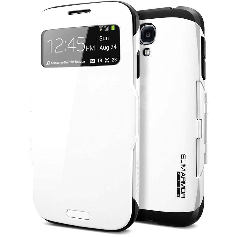 SPIGEN Galaxy S4 Schlank Rüstung Fall Weiß anzeigen - Schutzhülle