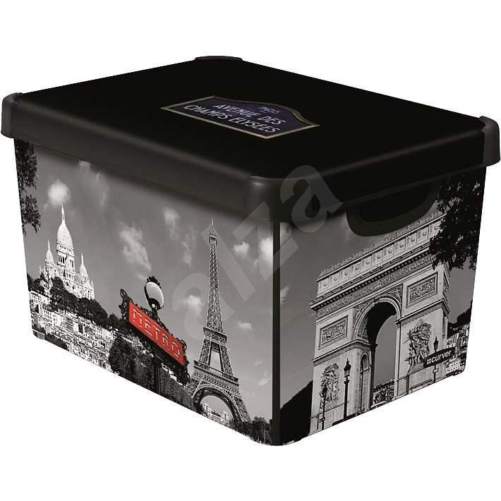 Aufbewahrungsbox Curver Decobox - L - Paris - Aufbewahrungsbox