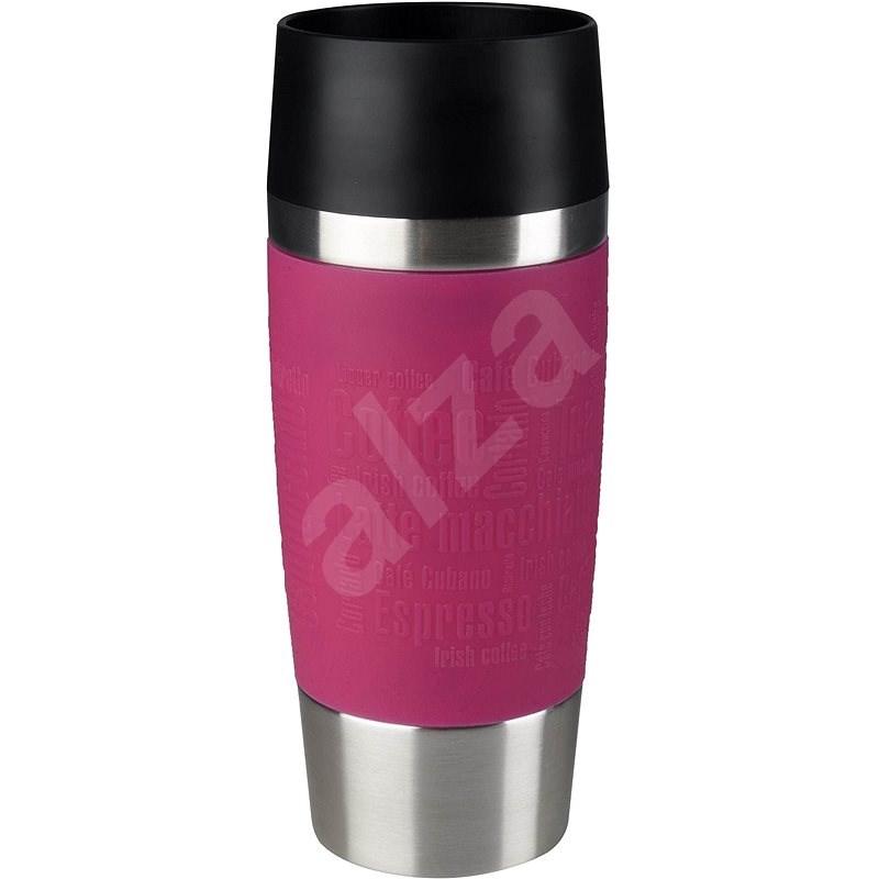 Tefal Reisebecher 0.36 L TRAVEL MUG Pink/Edelstahl - Thermostasse