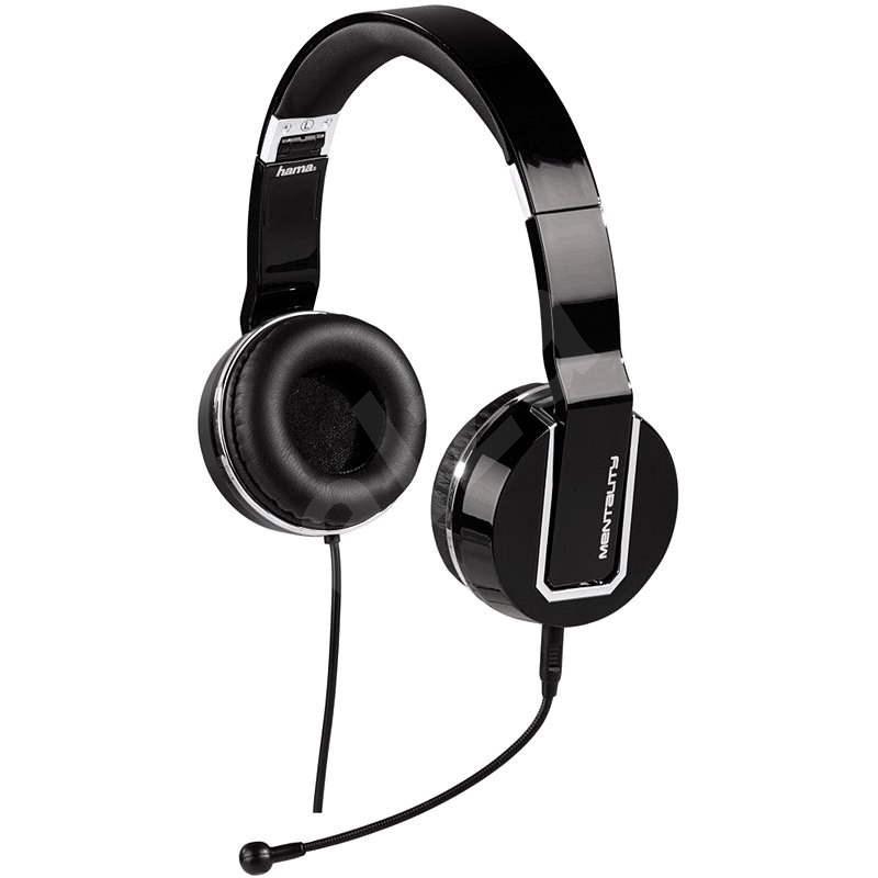 Mentality Hama PC-Headset, Schwarz - Kopfhörer
