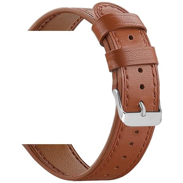 Eternico Samsung Quick Release 20 Lederarmband braun - Armband