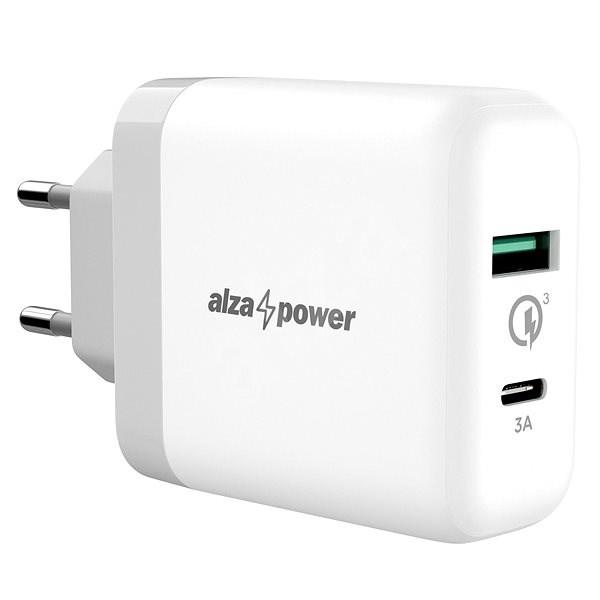 AlzaPower Q200C Quick Charge 3.0 White - Ladegerät