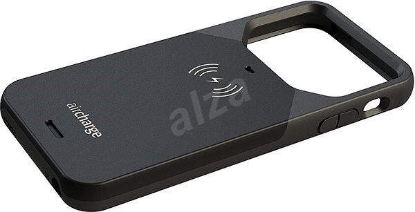 Aircharge Wireless Charging Case for Apple iPhone 5/5s/SE schwarz - Schutzhülle