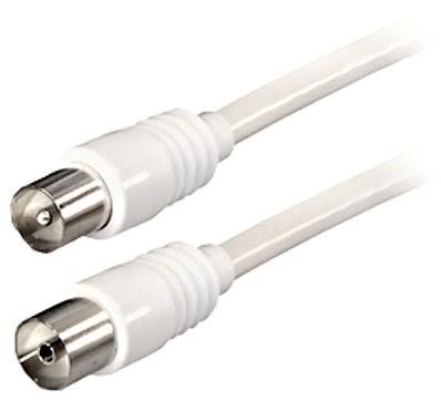 Koaxialkabel IEC-Stecker - IEC-Buchse 2,5 m - Koaxialkabel