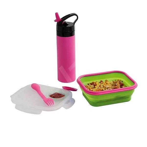 Set Trinkflasche und Lunchbox BeNomad MEN326P - Dosen-Set