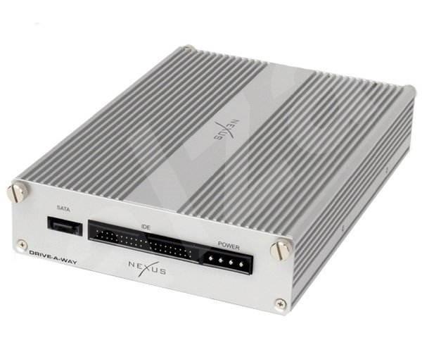 """Interní rámeček NEXUS Drive-A-Way stříbrný (silver) - pro 3.5""""/ 2.5"""" SATA/ IDE pevný disk do 5.25"""" p -"""