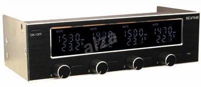SCYTHE KS01-BK-5.25 Kaze Server - Fan Controller Panel with LCD