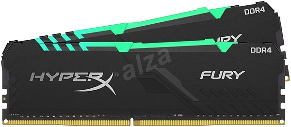 HyperX 32 GB DDR4 3000 MHz CL15 RGB FURY Series - Arbeitsspeicher