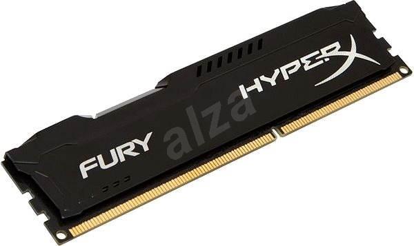 HyperX 4 GB DDR3 1600 MHz CL10 Fury Schwarz Serie - Arbeitsspeicher